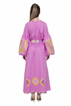 Сукня «Вирій» рожевого кольору