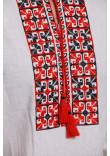 Вишиванка «Оберіг» з червоно-чорним орнаментом