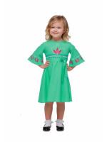 Сукня для дівчинки «Сяйво» кольору м'яти