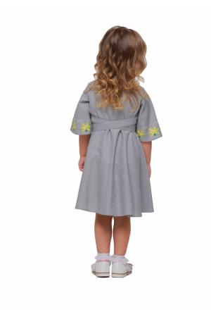Сукня для дівчинки «Сяйво» сірого кольору