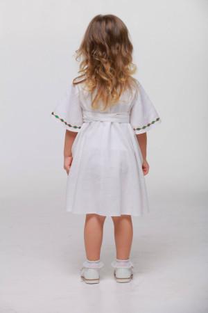 Сукня для дівчинки «Пробудження» білого кольору
