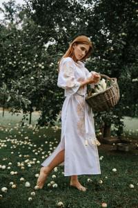 Сукня «Муза» білого кольору