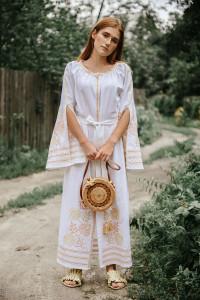 Сукня «Княжна» білого кольору