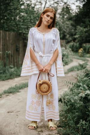 Платье «Княжна» белого цвета