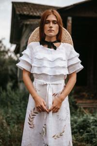 Сукня «Панночка» білого кольору