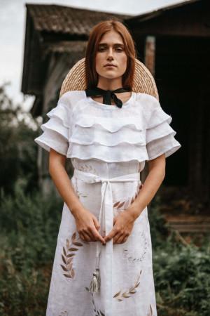Платье «Панночка» белого цвета