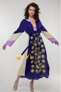 Сукня «Луга» фіолетового кольору