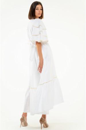 Сукня «Либідь» білого кольору