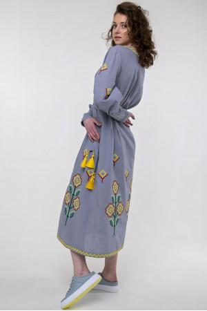 Сукня «Меланка» сірого кольору
