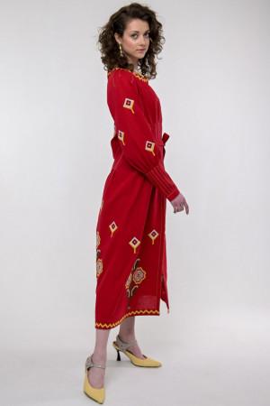 Сукня «Меланка» червоного кольору