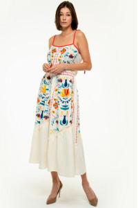 Сукня «Турія» білого кольору