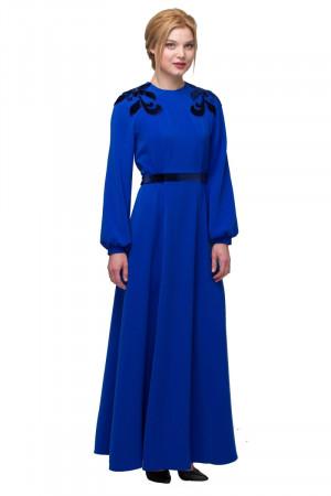 Сукня «Цвіт ірису» синього кольору