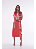 Сукня «Невісточка» кольору марсала