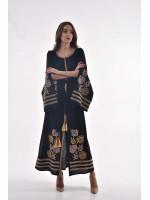 Платье «Княжна» черного цвета