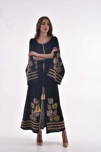 Сукня «Княжна» чорного кольору