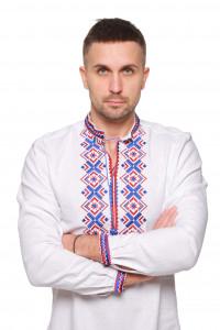 Вышиванка мужская «Ромбы Косач»