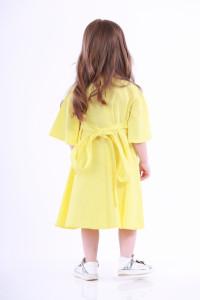 Платье для девочки «Невесточка» желтого цвета