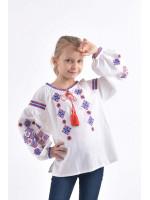 Вышиванка для девочки «Ромбы Косач»