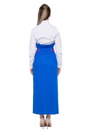 Юбка «Величие» синего цвета
