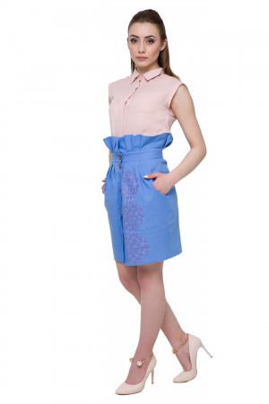 Спідниця «Вихола» блакитного кольору