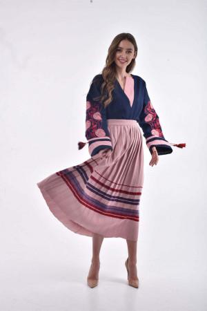 Спідниця «Богема» рожевого кольору