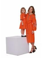 Комплект вишитих суконь для мами та доньки «Пробудження»