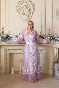 Сукня «Світозара» бузкового кольору