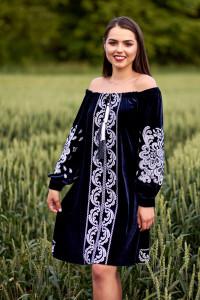 Сукня «Данута» темно-синього кольору
