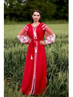 Сукня «Вестана» червоного кольору