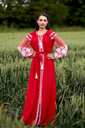 Платье «Вестана» красного цвета
