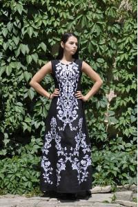 Сукня «Гойра» чорного кольору
