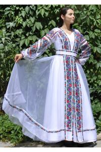 Платье «Княгиня» белого цвета