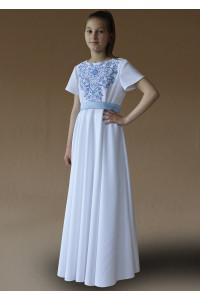 Сукня для дівчинки «Амулет-Париж» білого кольору