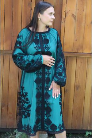 Платье «Галина» мятного цвета