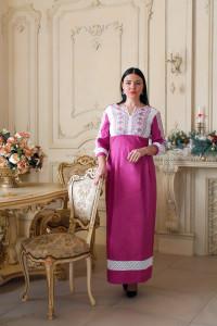 Сукня «Благослава» рожевого кольору