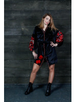 Сукня «Славяна» чорного  кольору