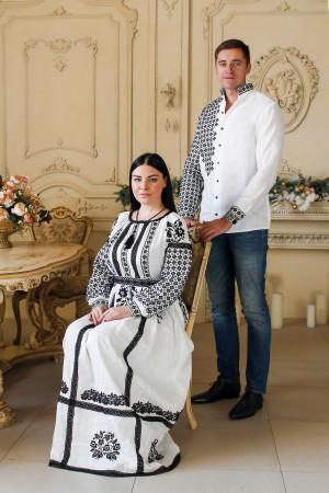 Семейный комплект «Свитодар»: платье и мужская вышиванка
