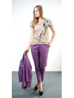 Блуза «Виора» бежевого цвета