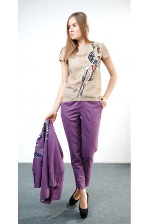 Блуза «Віора» бежевого кольору