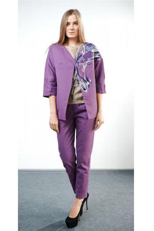 Жакет «Тиса» фіолетового кольору