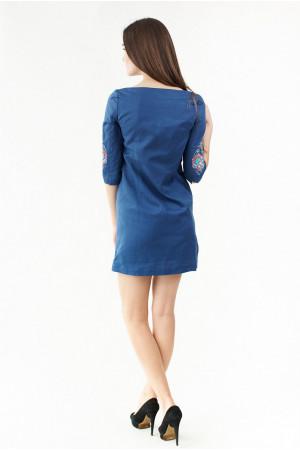 Сукня «Ія» синього кольору