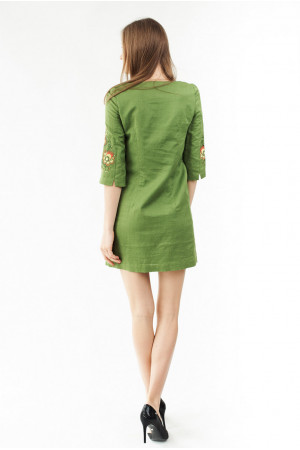 Сукня «Ія» зеленого кольору