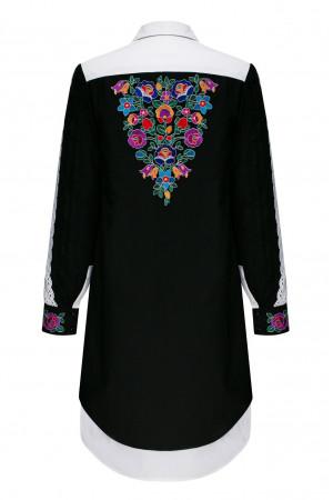Платье «Чаяна» черного цвета