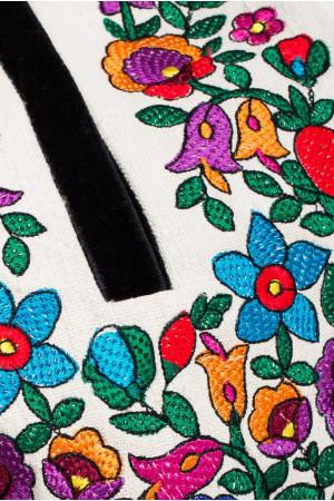 Вишиванка «Дзвінка» з конопляного полотна