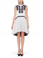 Платье «Ждана» белого цвета
