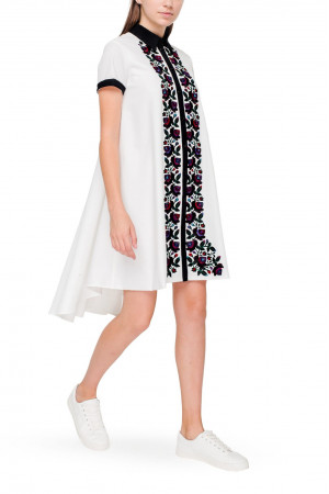 Платье «Илзе» белого цвета