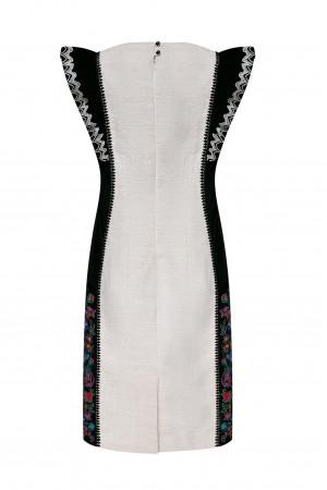 Платье «Веселина» из конопляного полотна