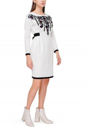 Платье «Килина» белого цвета
