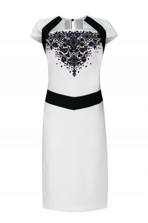 Платье «Леся» белого цвета