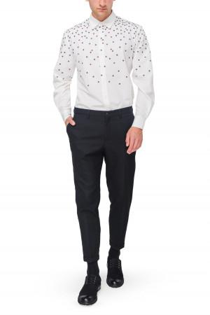 Рубашка «Игорь» с вышивкой